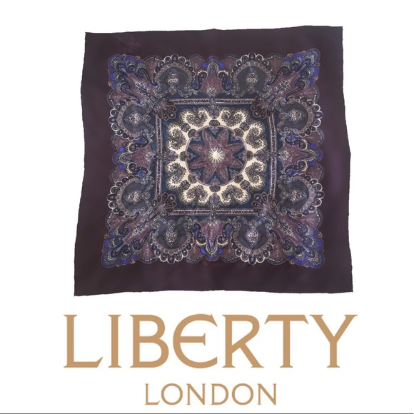 Liberty of Lindon Accessories - Liberty of London Twill Pure Silk Scarf